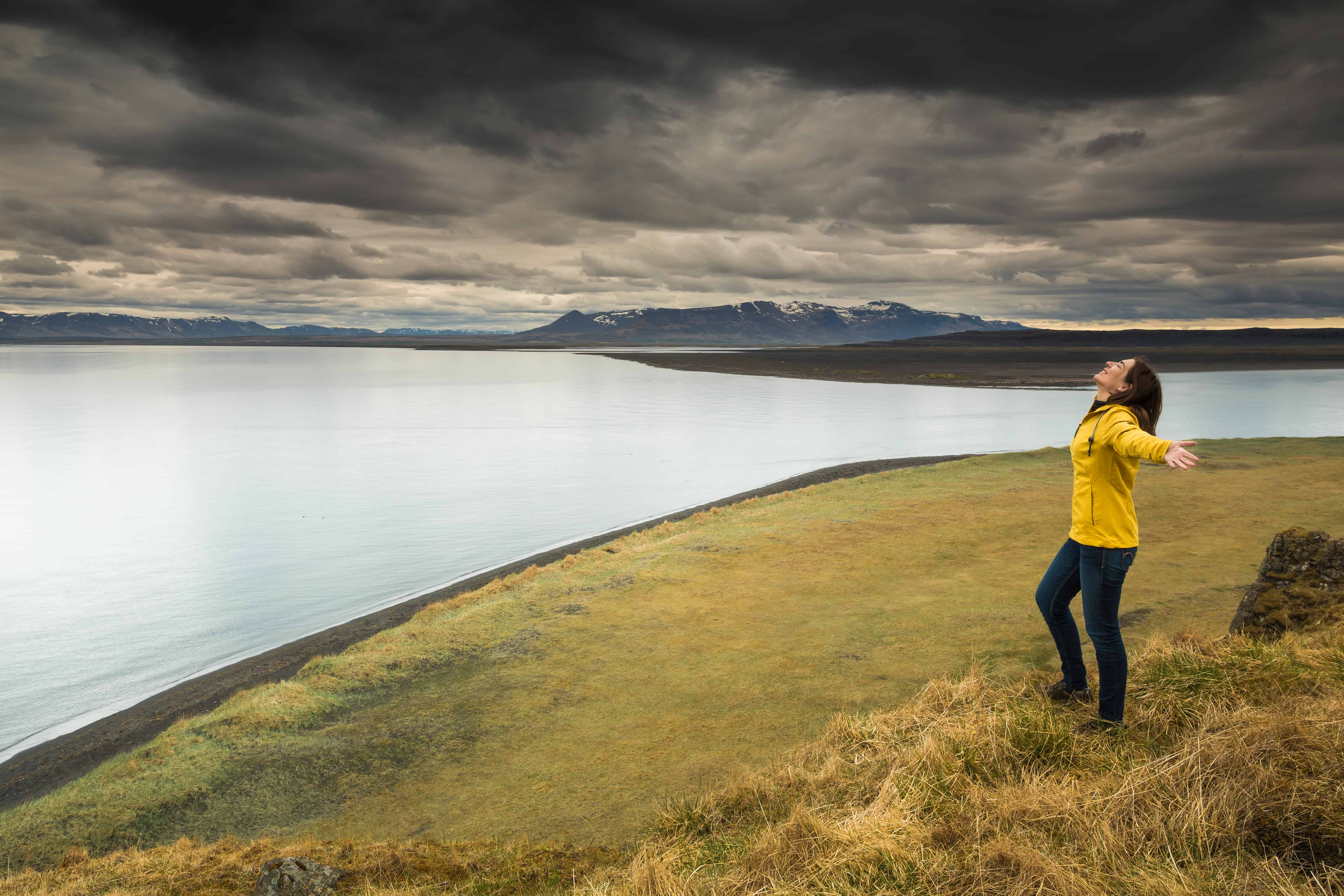musical meditation in iceland