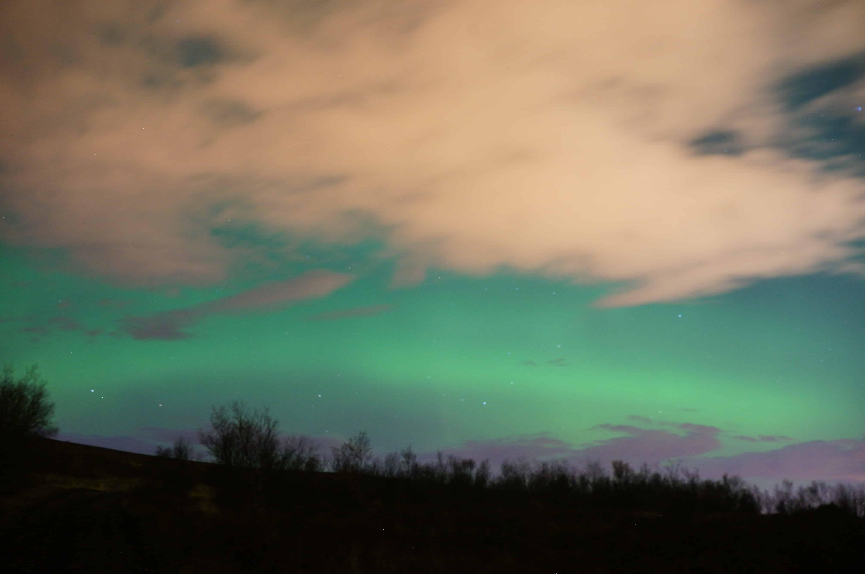 aurora borealis picture in iceland