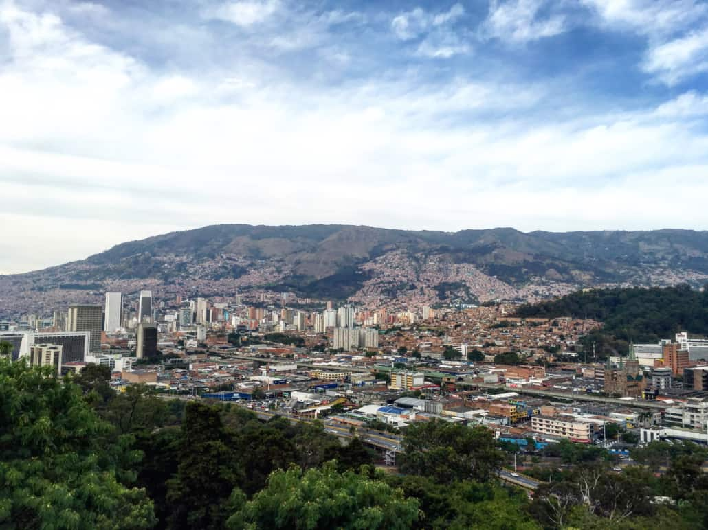 overlook of the medellin colombia